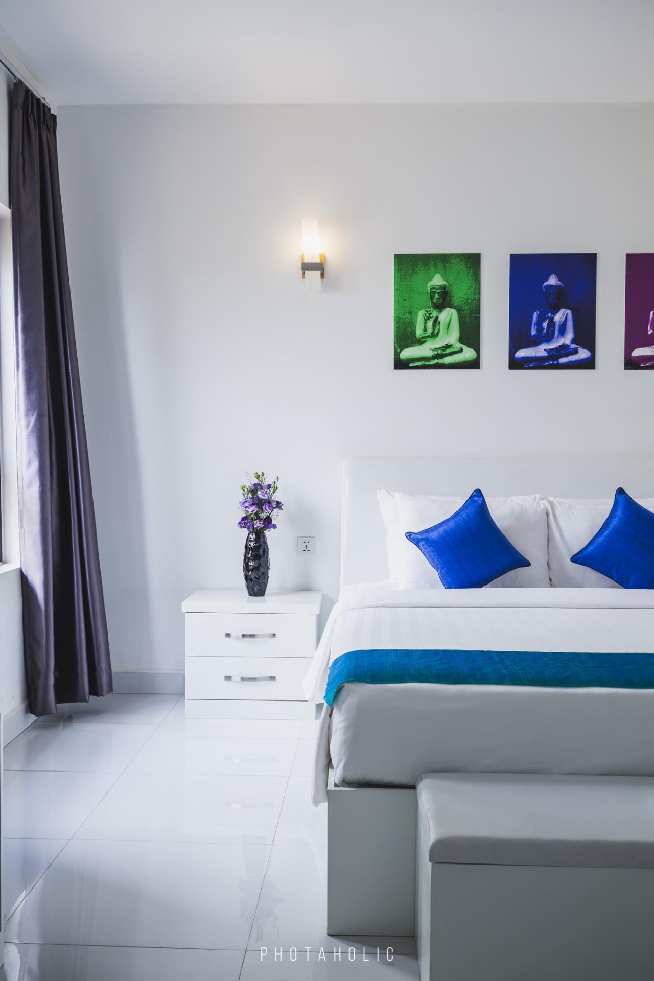 Cómo darle el toque de color a tu dormitorio