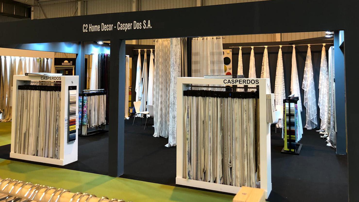 La nueva colección C2 Home Decor, presentada en la Feria del Mueble de Zaragoza