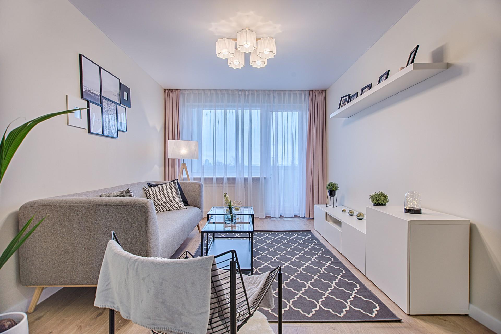 El reto de las cortinas para salón pequeño